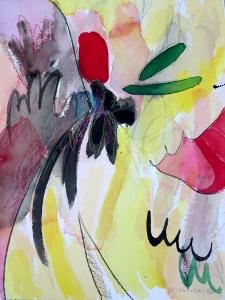 """Black Walnut, 12"""" x 9"""", 2002"""