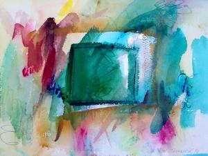 """Box-1, 9"""" x 12"""", 2001"""