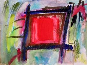 """Box-15, 9"""" x 12"""", 2001"""