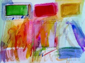 """Box-16, 9"""" x 12"""", 2001"""