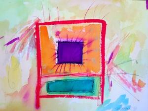 """Box-3, 9"""" x 12"""", 2001"""