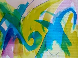 "Carnation, 7"" x 10"", 2002"