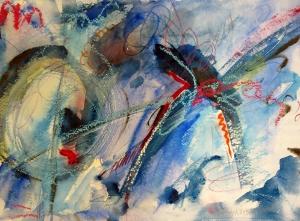 """Constellation, 7"""" x 10"""", 2000"""