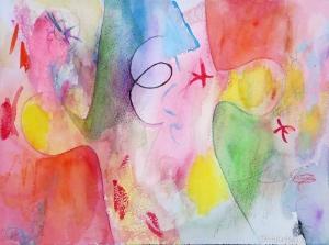 """Puzzle-1, 9"""" x12"""", 1999"""