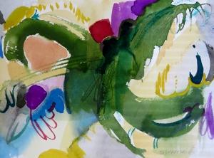 """Sage, 7"""" x 10"""", 2002"""