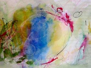 "Springtime, 7"" x 10"", 2000"