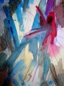 "Starburst, 10"" x 7"", 2001"