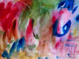 """Strawberry Fields, 7"""" x 10"""", 2000"""