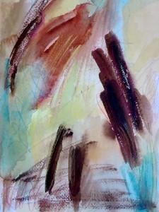 """Trail, 10"""" x 7"""", 2001"""
