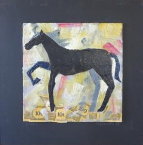 """Aries, 18"""" x 18"""", 2012, $125"""