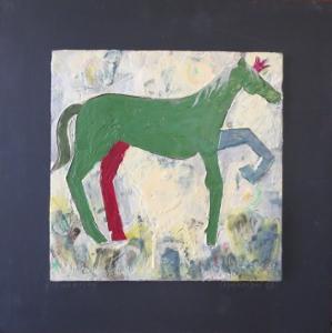 "Champion, 18"" x 18"", 2012, $125"
