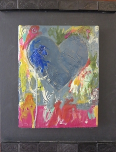 """Cobalt Tears, 11"""" x 14"""", 2012, $100"""