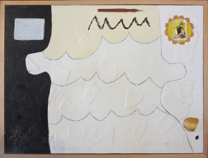 "Karen Tashkovski, Fool, 18"" x 24"", 1998, $200"