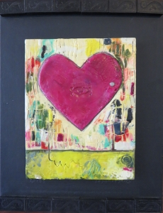 "Lovey, 11"" x 14"", 2012, $100"