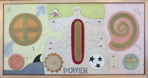 "Karen Tashkovski, Power, 18"" x 36"", 1997, $675"