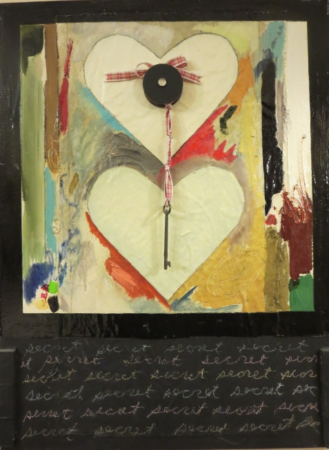Karen Tashkovski, Secret, 2008, mixed media, $200