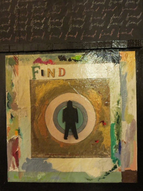 Karen Tashkovski, Find, 2008, mixed media, $200