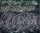 cy twombly chalkboard