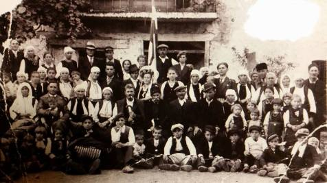 1930s era wedding in Velushina, Macedonia courtesy of the Jovanovski archives