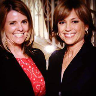 My sister with Olympic Gold Medalist Dorothy Hamill