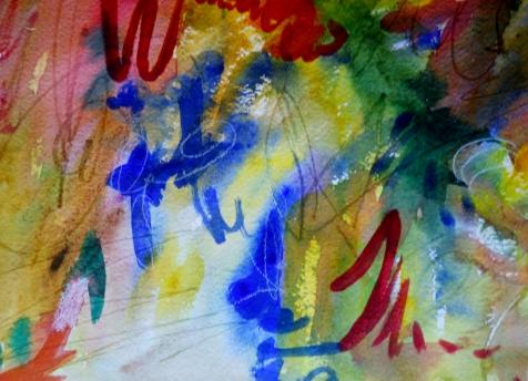 "Basket Case, 7"" x 10, watercolor, 2000, $50"