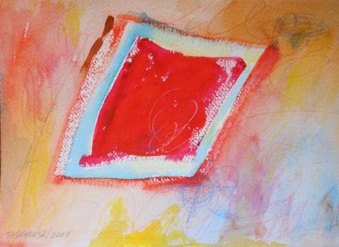 "The Castle, 7"" x 10"", watercolor, 2000, $50"