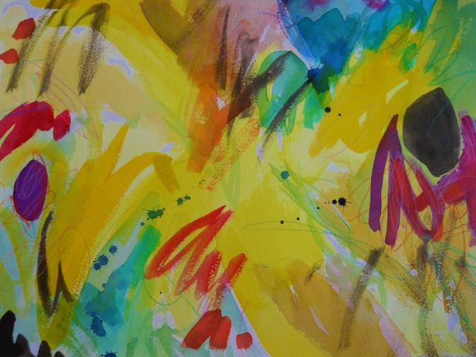 12″ x 16″ Watercolors