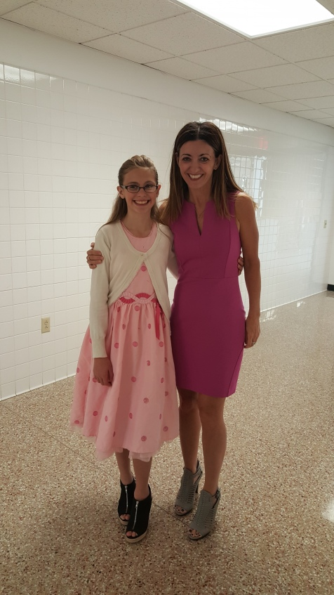with my favorite student-fashionista, Hope!