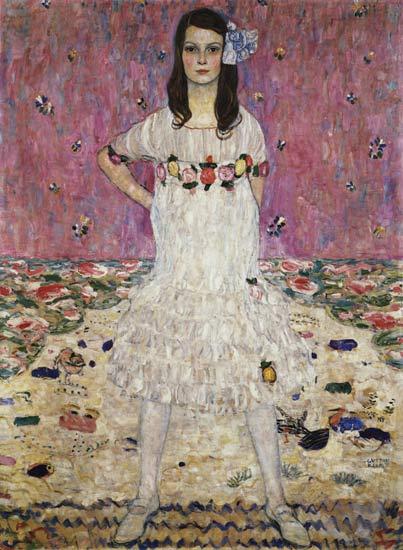 Mada Primavesi by Gustav Klimt