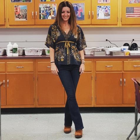 Viola top, Calvin Klein jeans, BCBGGeneration booties
