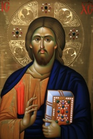 kumar-julian-christ-pantocrator-icon-at-aghiou-pavlou-monastery-on-mount-athos